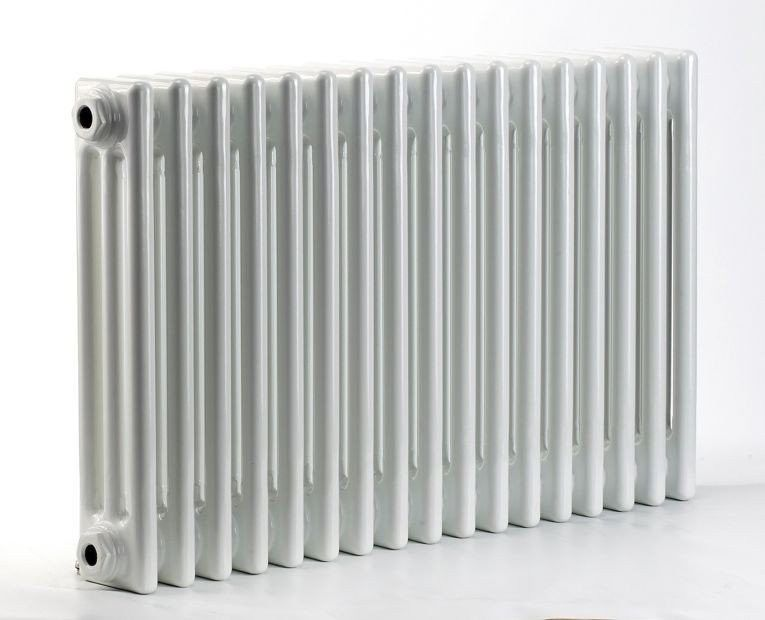 Grzejnik pokojowy retro - 3 kolumnowy, 700x1000, biały/ral - biały