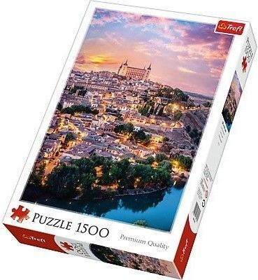 Puzzle TREFL 1500 - Toledo, Hiszpania, Toledo, Spain