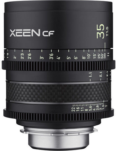 Samyang XEEN CF 35mm T1.5 - obiektyw stałoogniskowy do Canon EF Samyang XEEN CF 35mm T1.5