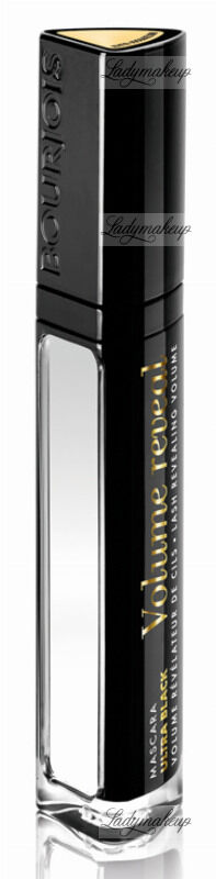 BOURJOIS - Mascara Ultra Black - VOLUME REVEAL - Pogrubiający tusz do rzęs z lusterkiem