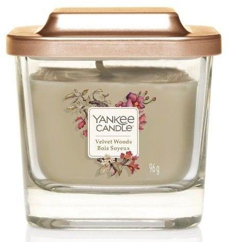 Yankee Candle Elevation Velvet Woods świeczka zapachowa mała 96 g