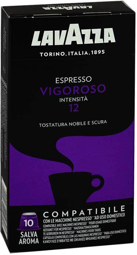 Lavazza Vigoroso Nespresso 10 kapsułek