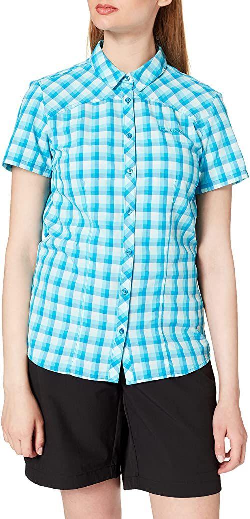Vaude damska koszulka Tacun Chemise, Icicle, 34