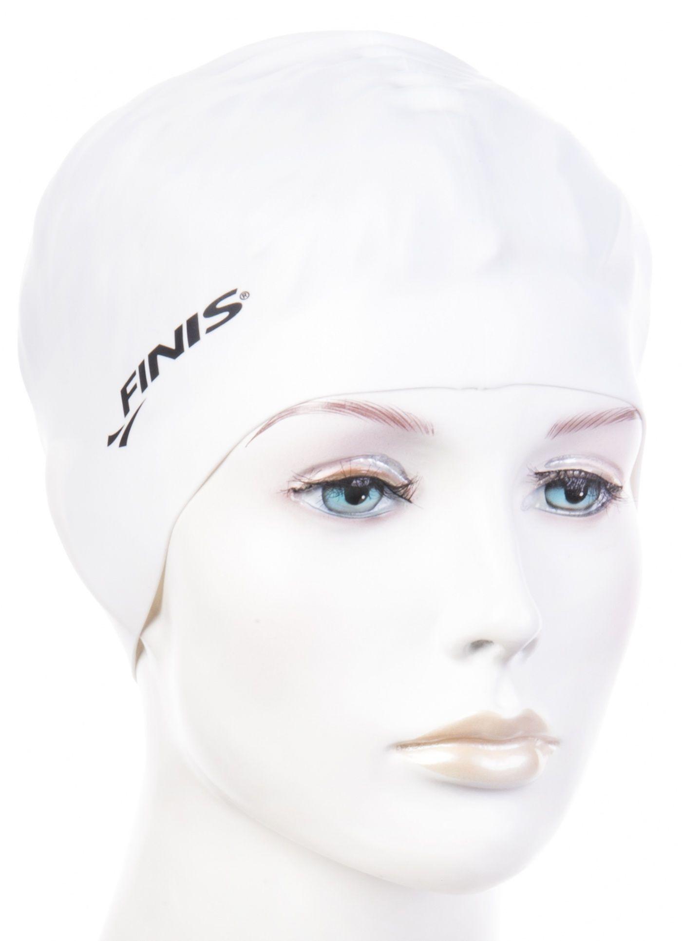 Czepek pływacki finis silicone cap biały