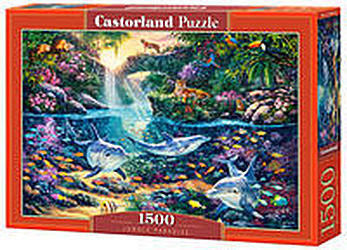 Puzzle Castorland 1500 - Rajska dżungla, Jungle Paradise