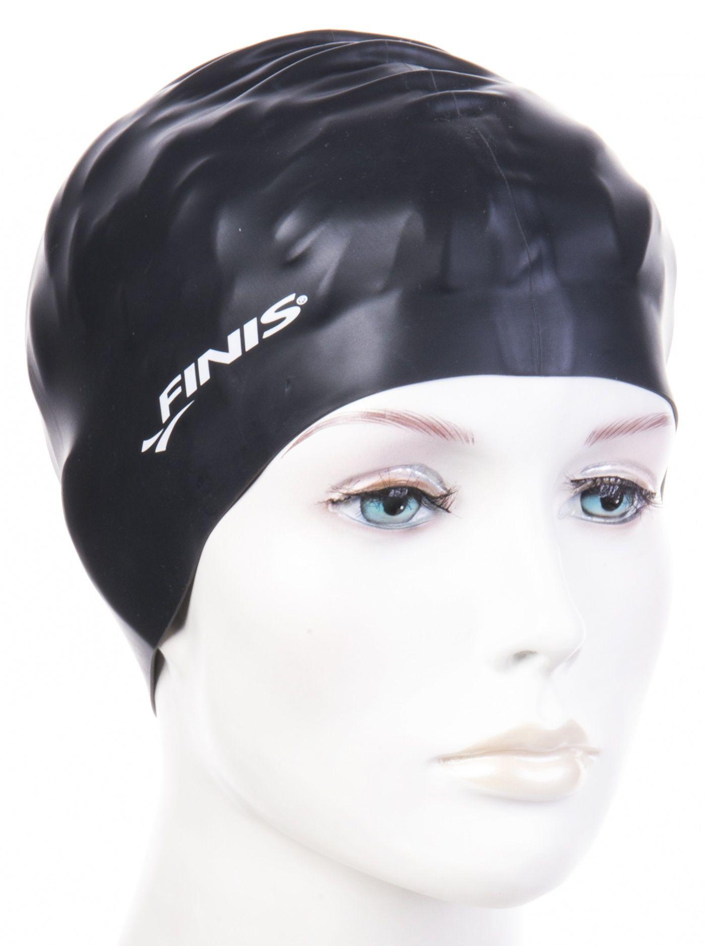 Czepek pływacki finis silicone cap czarny