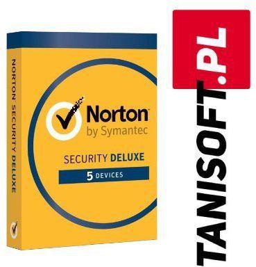 Norton Security 5 urządzeń / 1 rok Polska wersja językowa! / szybka wysyłka na e-mail / Faktura VAT / 32-64BIT / WYPRZEDAŻ