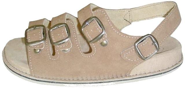 Sandały skórzane fusbet