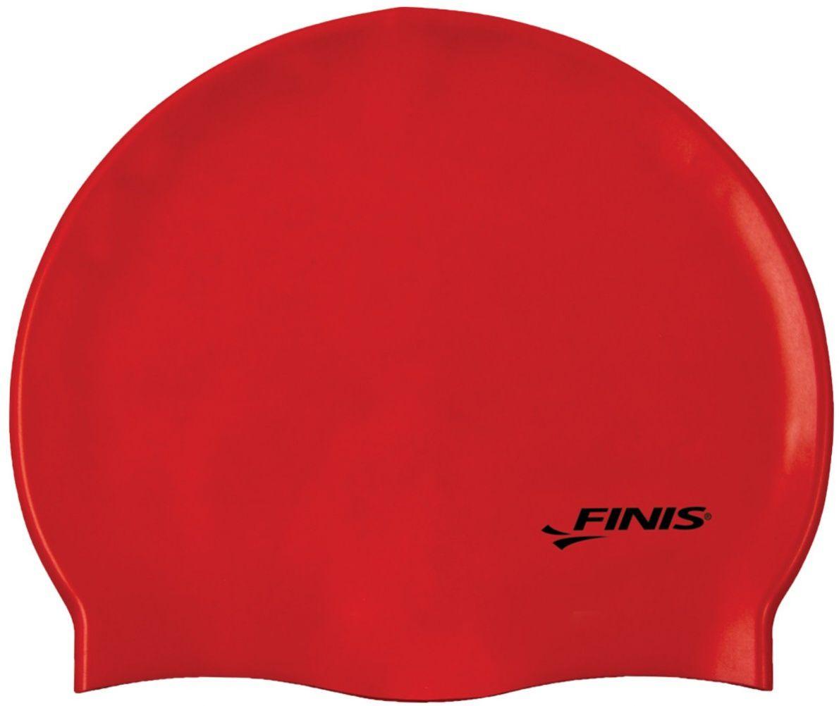 Czepek pływacki finis silicone cap czerwony