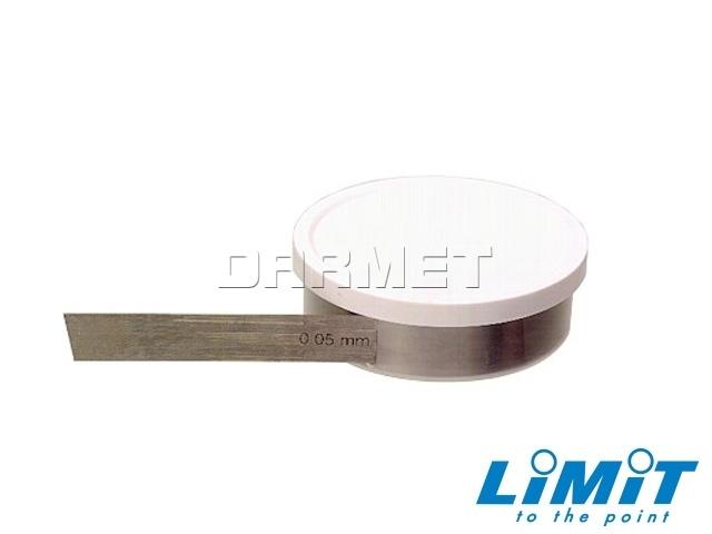 Taśma wzorcowa, szczelinowa; 0,80 mm- Limit (2599-2702)