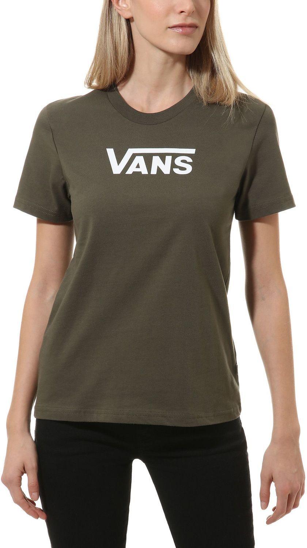 t-shirt damski VANS FLYING V CLASSIC Grape Leaf