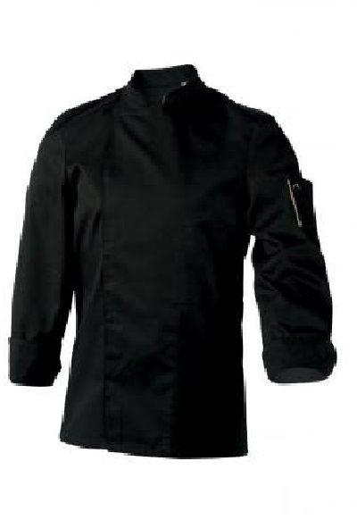 Bluza kucharska Nero czarna długi rękaw XS