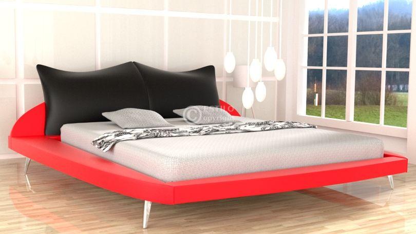 Łóżko tapicerowane Amadeus 140x200 - tkanina