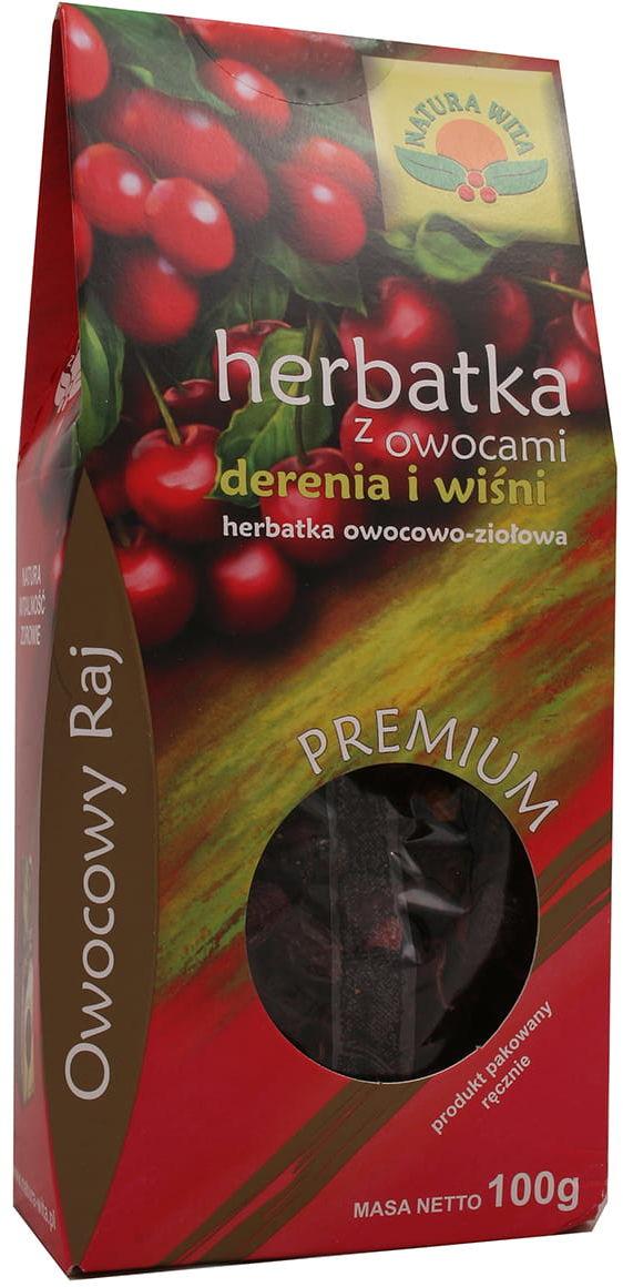 Herbatka z owocami derenia i wiśni Natura Wita 100g