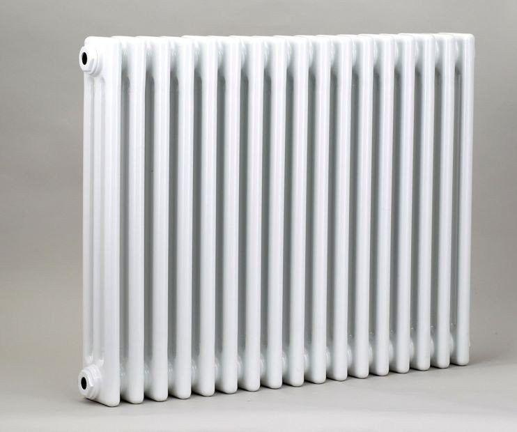Grzejnik pokojowy retro - 3 kolumnowy, 600x800, biały/ral - paleta ral