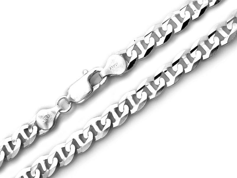 Srebrny męski łańcuch 925 GUCCI 60cm 42,61g