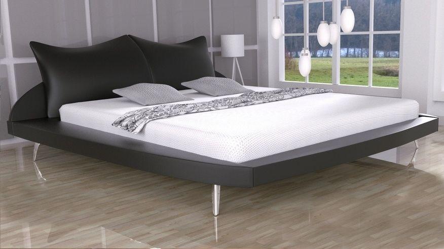 Łóżko tapicerowane Amadeus 200x200 - tkanina