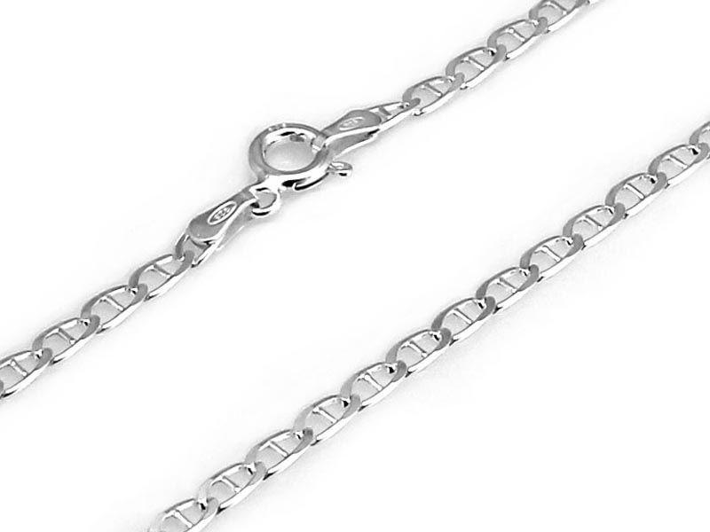 Srebrny męski łańcuch 925 GUCCI 50cm 4,33g