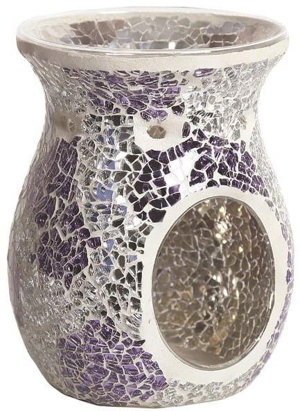 Kominek zapachowy MOZAIKA - Purple & Silver
