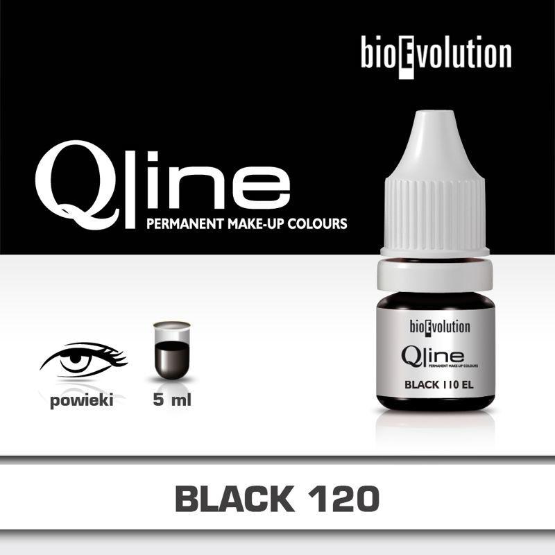 Pigment Bioevolution Black 120 - Qline- 5ml