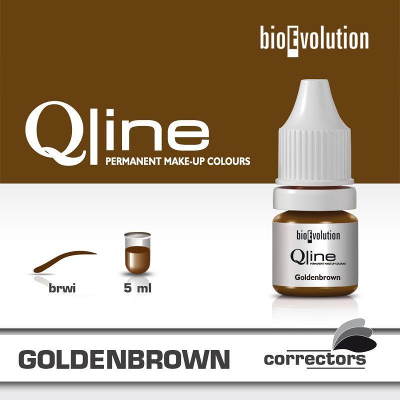 Pigment Bioevolution Goldenbrown - Qline - 5ml