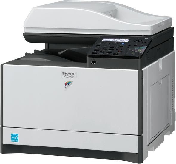 MX-C300W Kolorowe urządzenie wielofunkcyjne typu 4 w 1