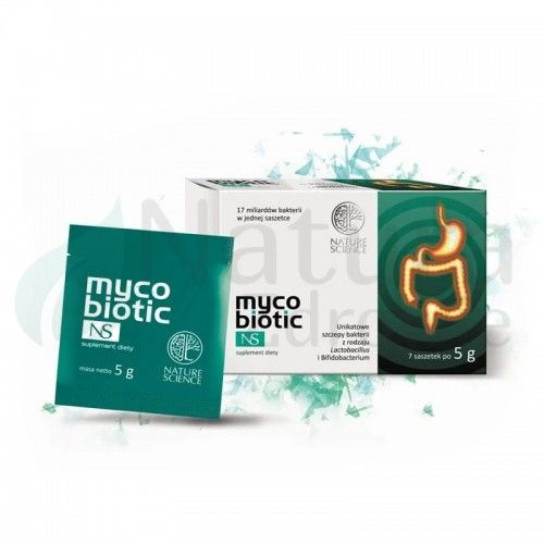 Probiotyk Mycobiotic NS 35g Saszetki Vege Bezglutenowy Nature Science