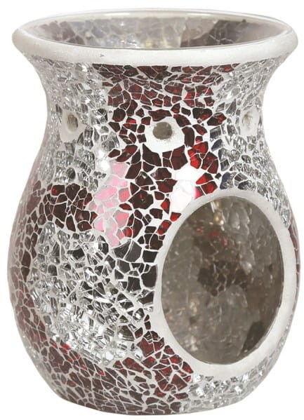 Kominek zapachowy MOZAIKA - Red & Silver