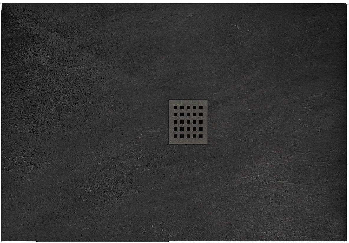 Rea Brodzik prysznicowy Black Rock 80 x 100