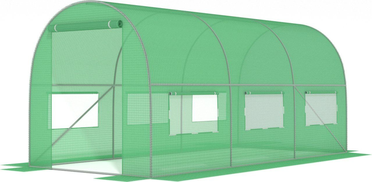 Tunel foliowy 3 m x 2 m /zielony/