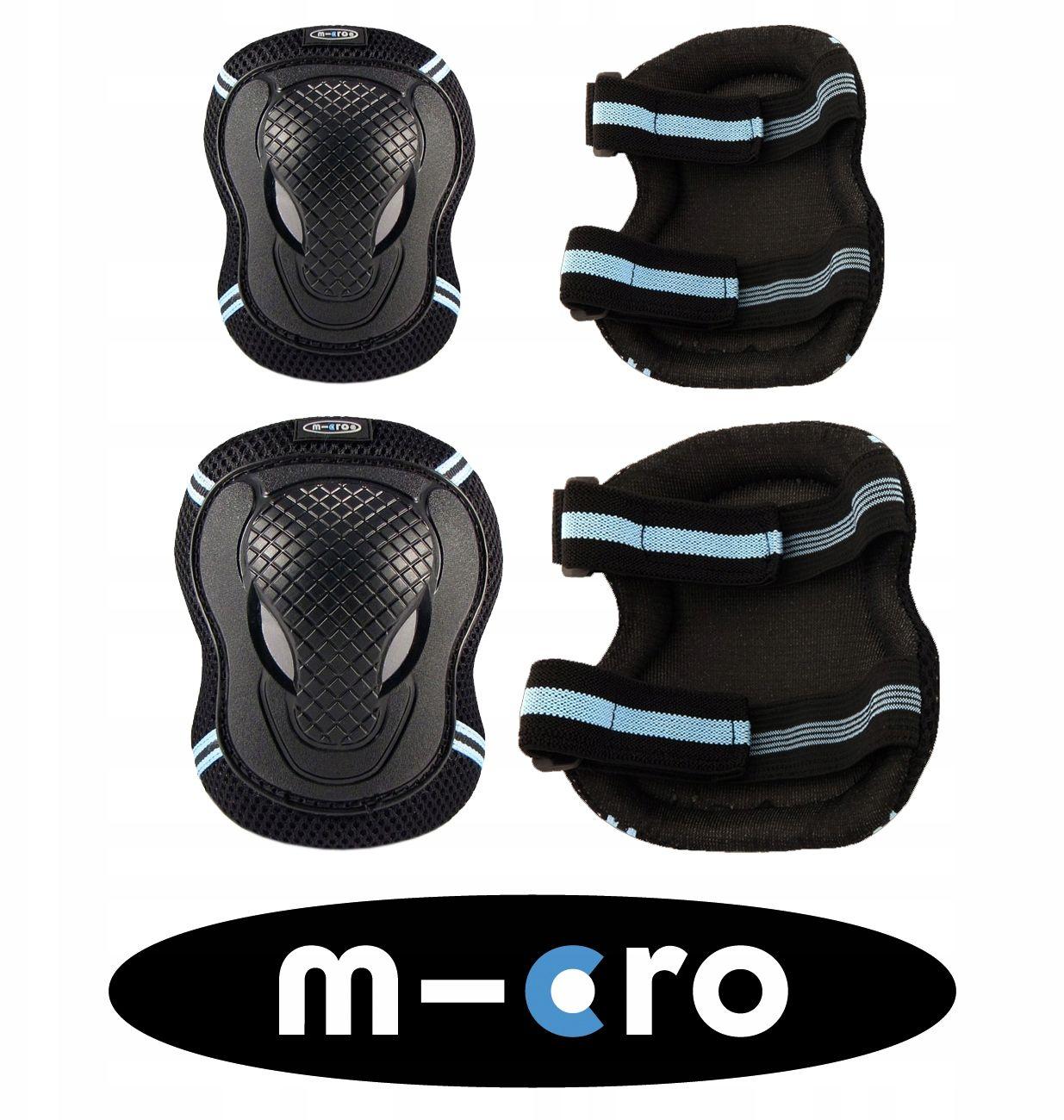 Ochraniacze Micro czarne AC8008