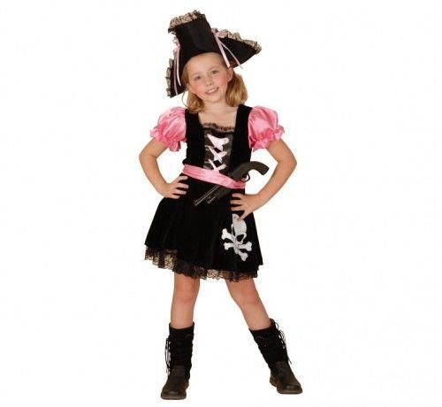 Przebranie dla dziewczynki Piratka Pink - Iza