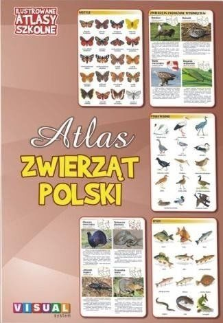 Ilustrowany atlas szkolny. Atlas zwierząt Polski - praca zbiorowa