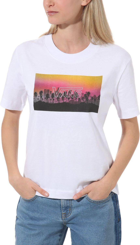 t-shirt damski VANS PHOTOBOMBER White