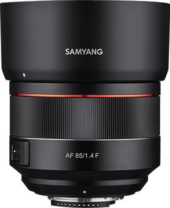 Samyang AF 85mm F1.4 F - obiektyw stałoogniskowy do Nikon F Samyang AF 85mm F1.4 F