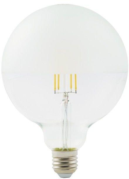 Żarówka dekoracyjna LED Diall G95 E27 7 W 806 lm półmatowa barwa ciepła