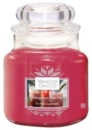 Yankee Candle Pomegranate Gin Fizz świeczka zapachowa Classic mała 104 g