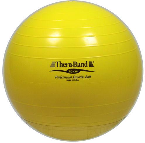 Piłka gimnastyczna THERA BAND i TOGU 45cm (ŻÓŁTA)