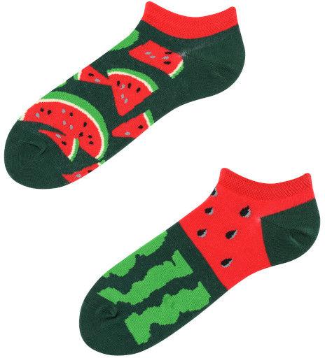 Stopki, Juicy Watermelon Low, Todo Socks, Arbuz, Owoc, Kolorowe
