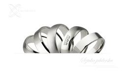 Obrączki srebrne - wzór Ag-266