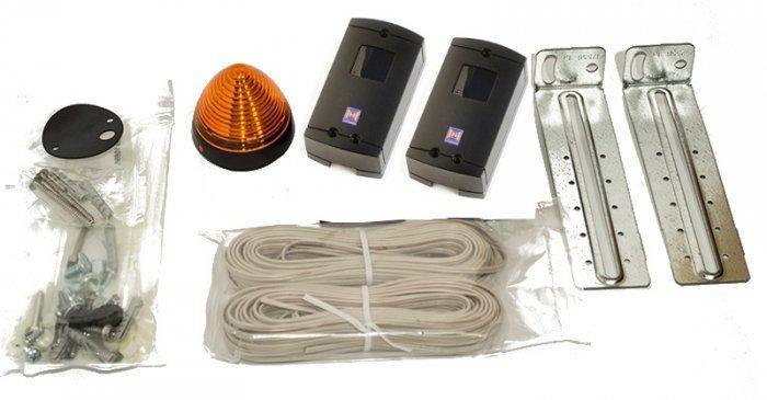 Zestaw SK do napędu LineaMatic / Portronic (lampa SLK LED 0,5 W / 24 V + fotokomórki EL301)