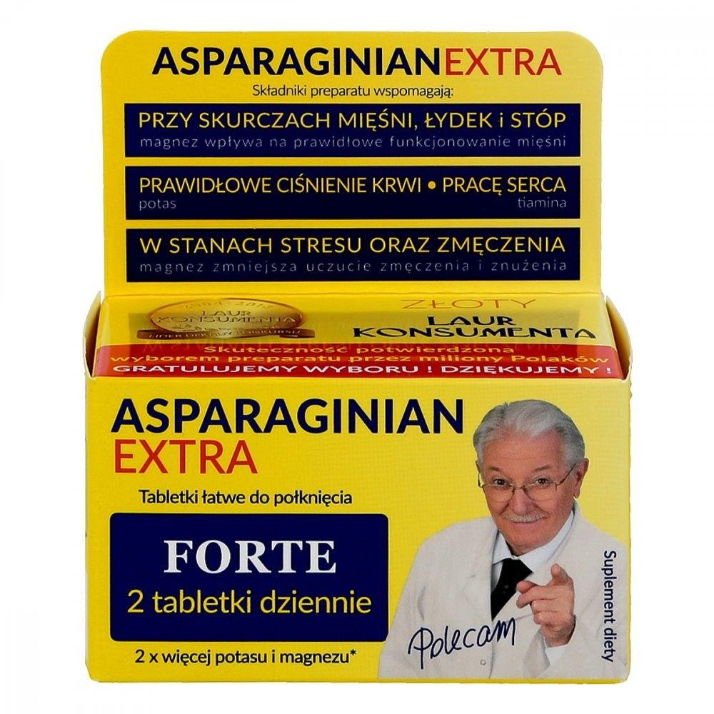 Asparaginian Extra Uniphar Magnez Potas tabletki
