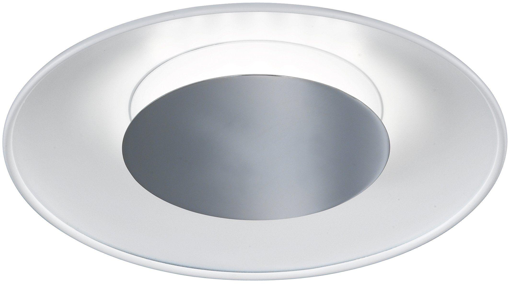 WOFI Lampa sufitowa, 1-żarówkowa, seria Rondo, 1 x LED, 13 W, wysokość 6 cm, średnica 30 cm, kelwiny 3000