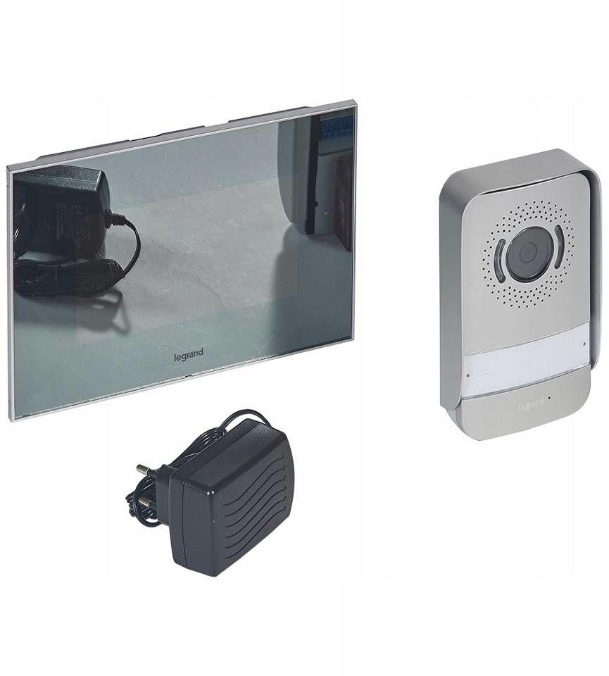 Wideodomofon lustrzany 2-przewodowy Legrand 369220 Wysyłka 24h Wsparcie Techniczne