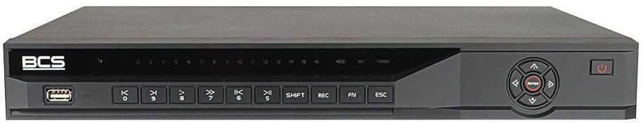 Rejestrator IP BCS-NVR1602-4K-P-III 16 kanałowy BCS