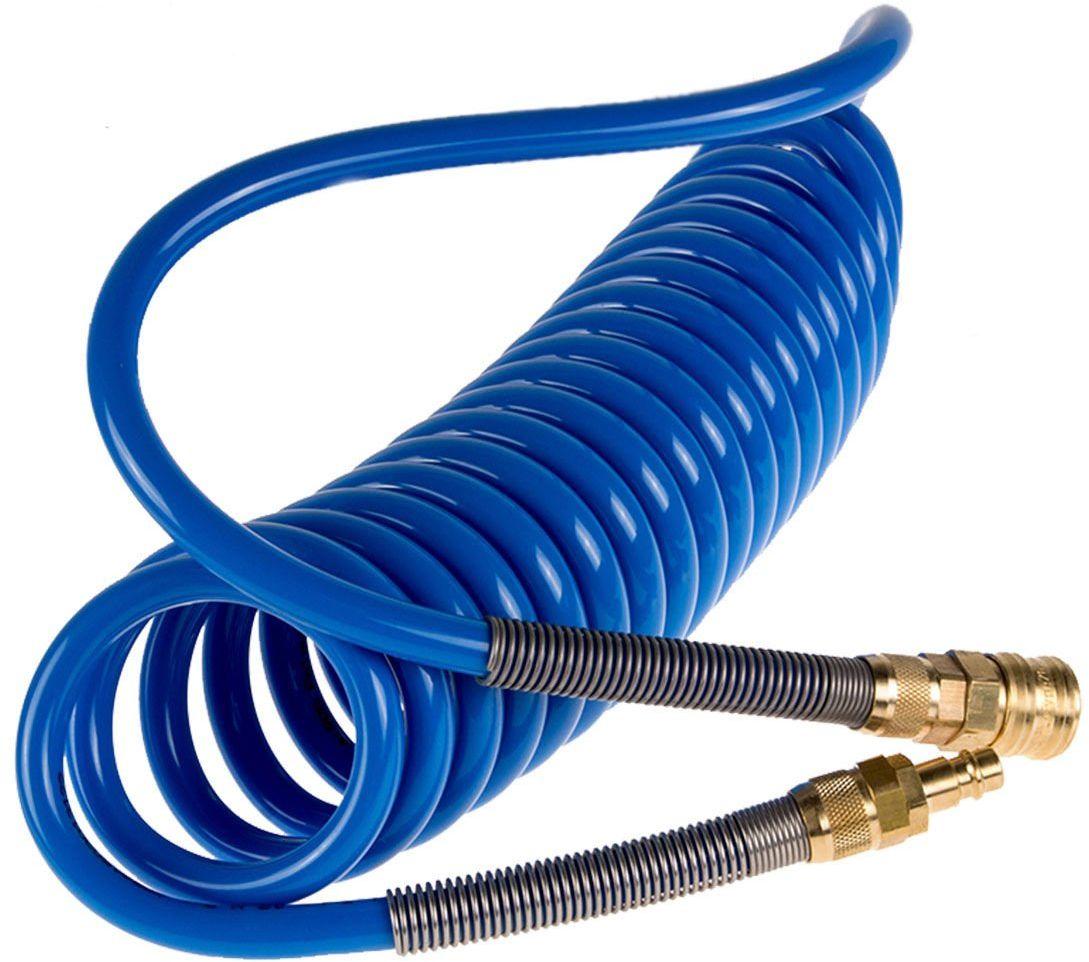 Wąż spiralny 12x8mm poliuretanowy 5m RQS