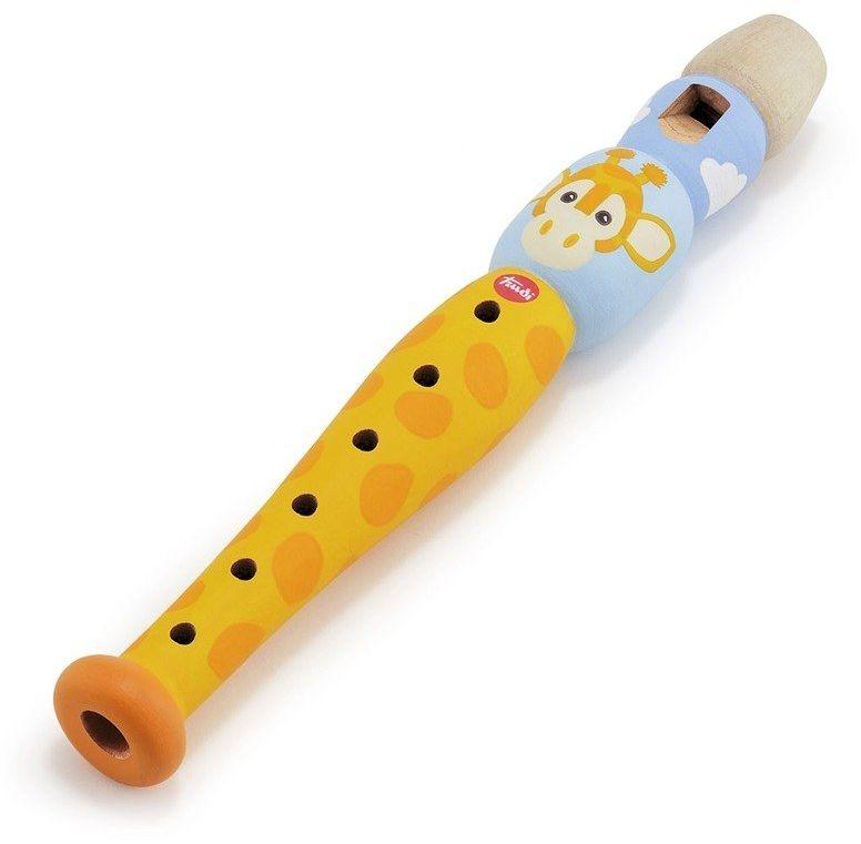 Drewniany flet Melodyjna żyrafa 88004-Trudi by Sevi, instrumenty muzyczne dla dzieci
