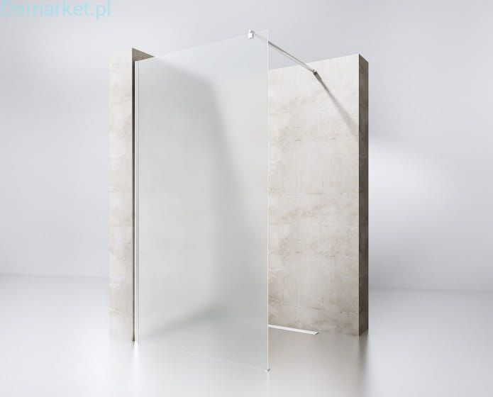 Ścianka Prysznicowa Walk-In W9 100cm-140cm MROŻONA 8mm