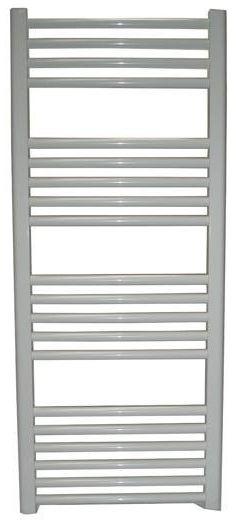 Grzejnik łazienkowy york - wykończenie proste, 400x1200, biały/ral