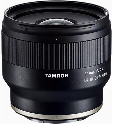 Tamron 24mm f/2.8 Di III OSD M 1:2 - obiektyw stałoogniskowy do Sony E Tamron 24mm f/2.8 Di III OSD M 1:2